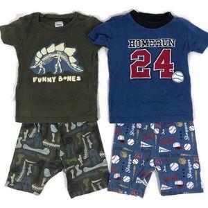 2 pairs of Boys Gymboree Pajamas Size 4